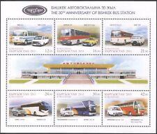 Kyrgyzstan 2011 Bus Station/Buses/Bus/Public Transport/Motors 6v sht (s2216f)