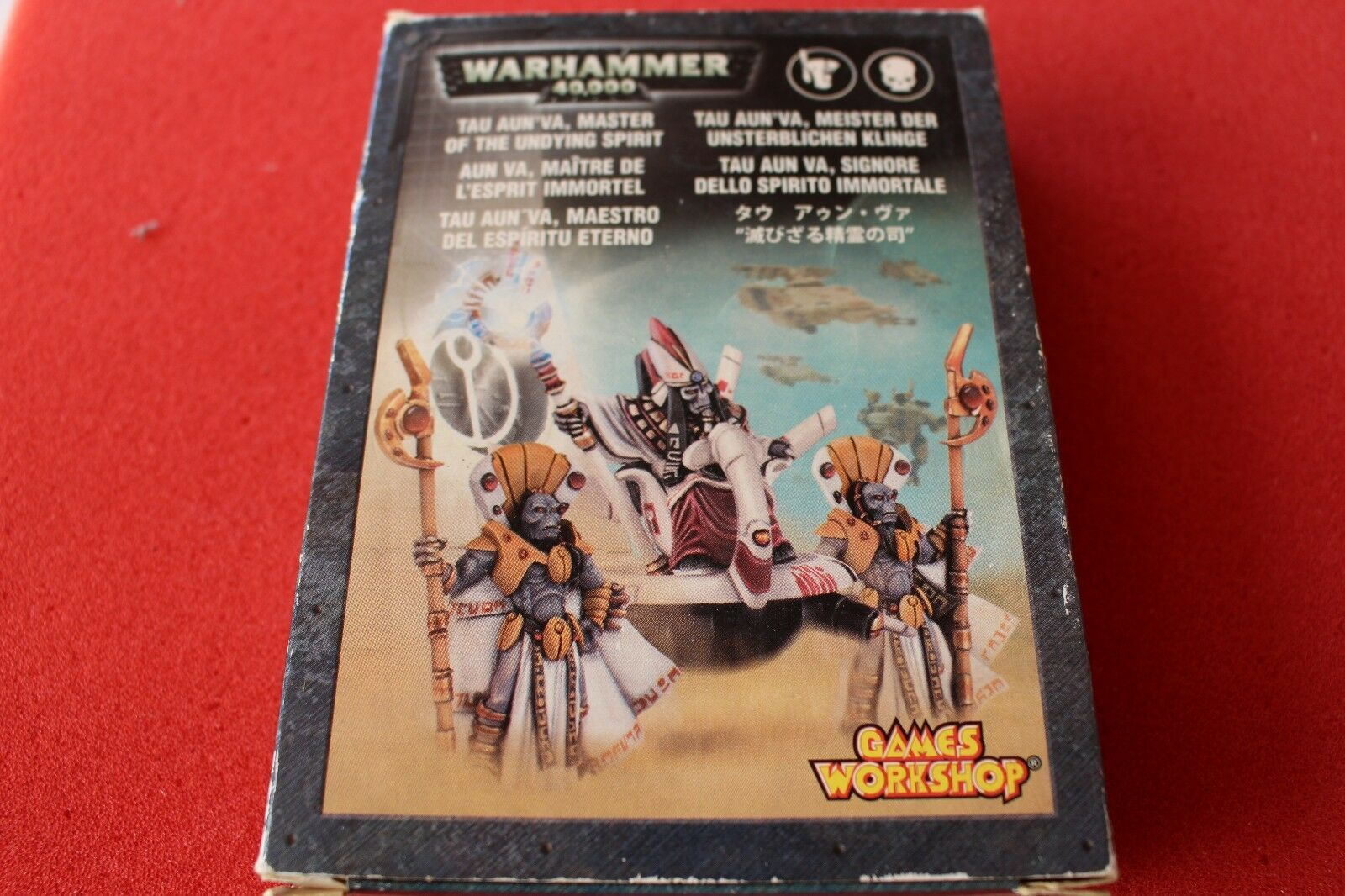 Games Workshop Warhammer 40k Tau Aun'Va Master of the Undying Spirit Metal Boxed