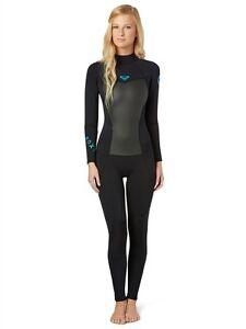 Roxy Syncro GBS 4 3 fullsuit new NWT women s size 14 - Back Zip ... 0f2d8c548