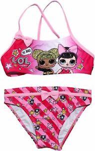 Lol Surprise Filles Hi Bae Deux Pièces Bikini Sweamwear Set-afficher Le Titre D'origine Prix Fou