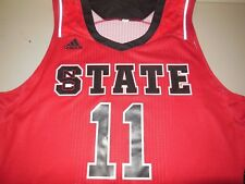 d33757ca5 Adidas NC State Wolfpack Basketball Jersey Authentic Team North Carolina  Mans XL