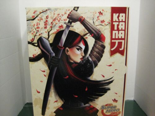 Comic Con Exclusive DC Super Hero Girls Katana 12 inch Figure 2016