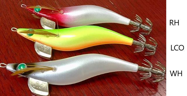 3 X Squid Jigs High Quailty Original Egi-Cast Size 3.0