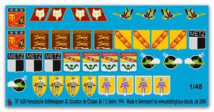 Peddinghaus-1-48-1628-Frances-unidad-insignias-30-Escadron-de-Chasse-BA-112