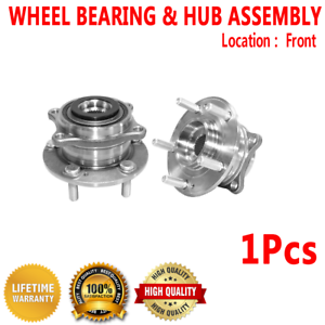 Front wheel hub bearing assembly for kia sorento 2011 awd fwd ebay image is loading front wheel hub bearing assembly for kia sorento fandeluxe Images