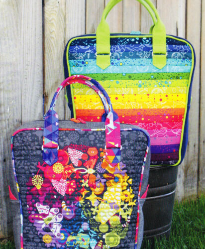 PATTERN Sassafras Lane retro style bag PATTERN Bubba Bowling Bag