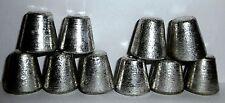 TIN metal element - 99.9%  - SOLID CONES x 10 ~ bundle #1 ~ 544g