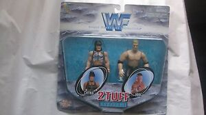 WWF 2 Tuff Series 1 Chyna & Triple H Action Figures From Jakks 1998 NEW t629