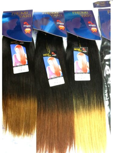 "100% Remi Premium Human Hair Yaki Straight Wvg by Jinny's Beauty 8"" 14"""
