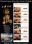 Damascene-Gold-Star-Design-Round-Drop-Earrings-by-Midas-of-Toledo-Spain-8102 thumbnail 2