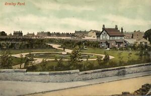 ARMLEY-PARK-Leeds-Yorkshire-1907-Original-Postcard-ED230