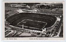 REAL MADRID FOOTBALL STADIUM: Spain postcard (C13027)