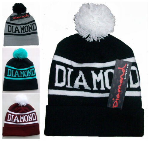 New Hot Hip-Hop Hat Unisex chic DIAMOND SUPPLY CO Beanie men/'s women/'s Cool cap