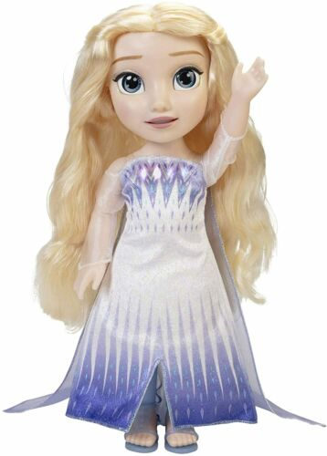 Free Shipping! Disney Frozen 2 Elsa Singing Doll *Magic In Motion Doll*