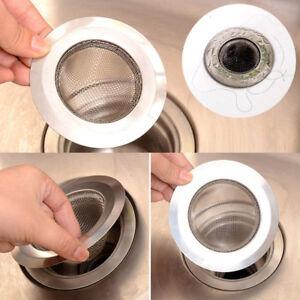 Details about 0Home Kitchen Sink Drain Strainer Stainless Steel Mesh Basket  Strainer Oragnizer