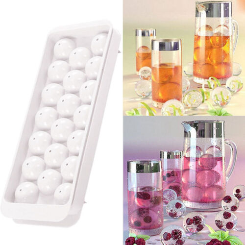20Cube Silicone Whiskey ice tool Ball Maker Mold Sphere Mould Party Bar Tray