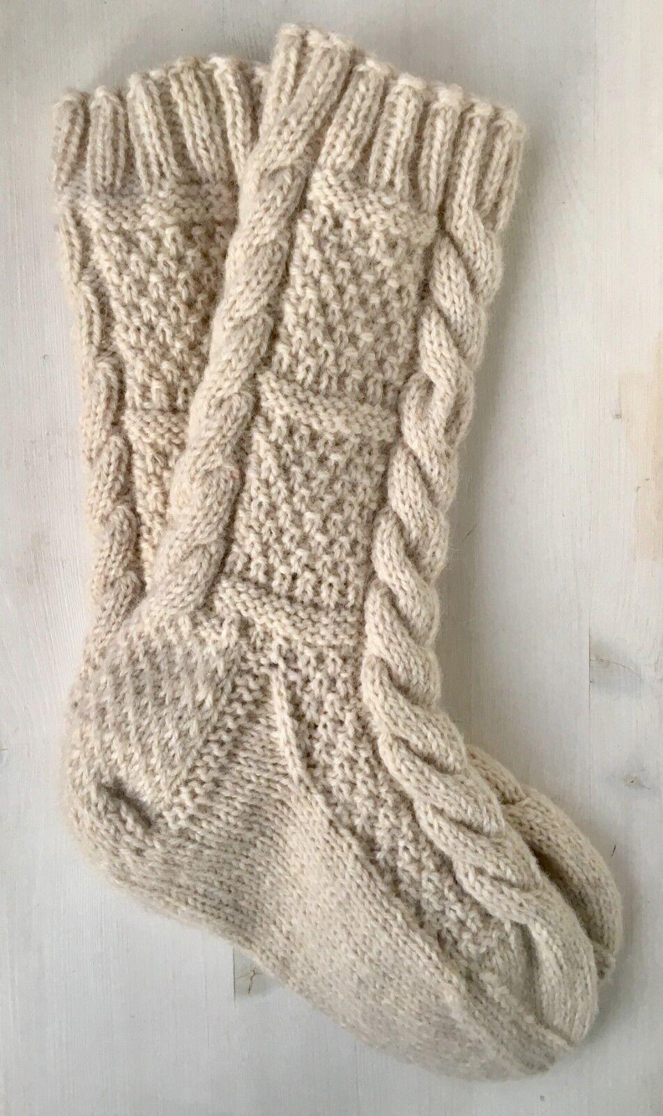 Hüttensocken Hausschuhe, Socken selbstgerstickt, Slippers, Gr 36-43. 32 cm