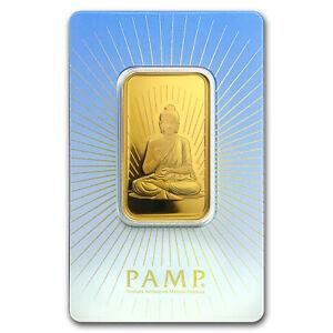 1-oz-Gold-Bar-PAMP-Suisse-Religious-Series-Buddha-SKU-94437