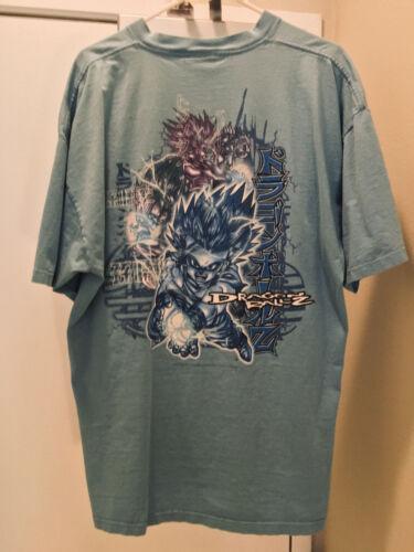 VINTAGE 2001 Dragon Ball Z shirt GOHAN XXL
