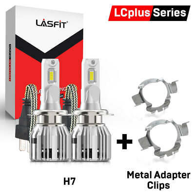 TOMALL H7 LED Headlight Bulb Retainers Holder Adapter for VW Volkswagen Polo Skoda Octavia MG GS