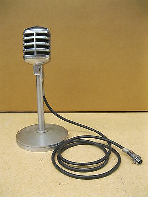 Vintage Electro Voice Mic Stand 428A With Microphone and Belden 8410 Cord