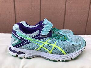 c318c7ef774 Asics Niños US 1.5 EUR 33 GT-1000 4 PS Running Zapatos Zapatillas ...