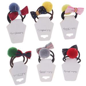 2pcs-Hairball-Copricapo-Elastico-Hairbands-Fascia-per-Capelli-Bimba-Ragazze-LFIT