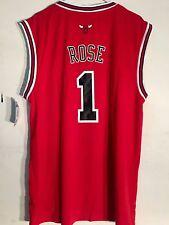Adidas NBA Jersey Chicago Bulls Derrick Rose Red sz 3X