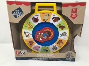 d2154464d4 Fisher Price Classic Farmer Says See  n Say Learn Animal Sounds Baby ...