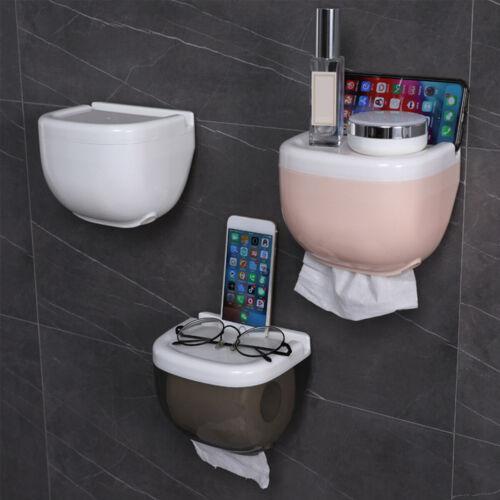 Bathroom Toilet Paper Holder Storage Rolls Black//White//Pink Precision Waterproof