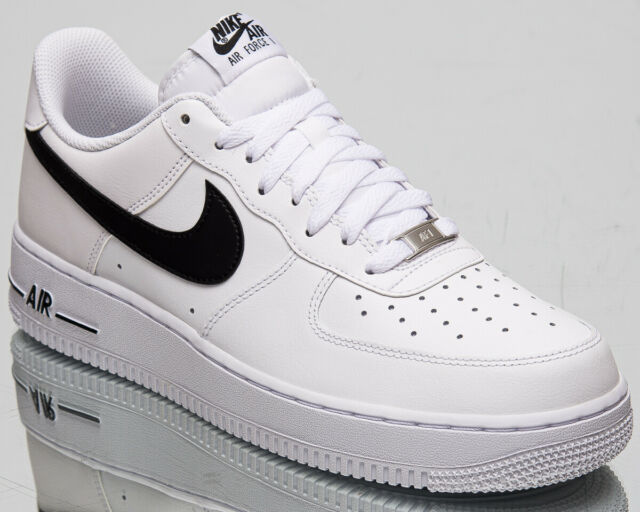 Nike Air Force 1 '07 AN20 AF1 Men's Low White Black Lifestyle Sneakers Shoes