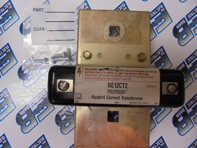 SQUARE D NE12CT2 NEUTRAL CURRENT TRANSFORMER- WARRANTY