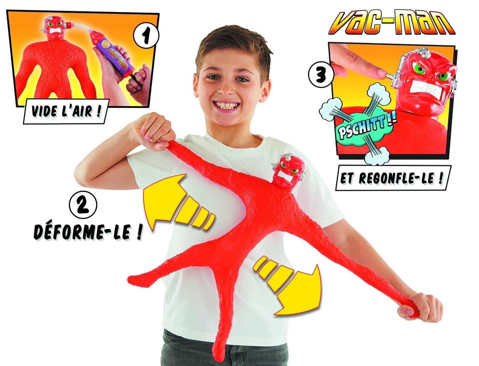Stretch Stretch Stretch Armstrong MISTER MUSCOLO - VAC-MAN - MIS 23ef06