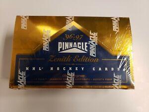 1996-97 Pinnacle Zenith NHL Hockey Factory Sealed hobby box 24 packs Z-Team?