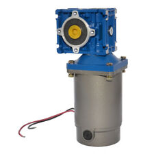 Dc 24v 36rpm Worm Geared Motor 120w Power With Gearbox Gear Head Ratio Optional