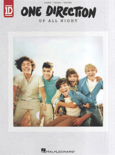 ONE DIRECTION UP ALL NIGHT Piano Vocal Guitar PVG Sheet Music Book Songbook 1D