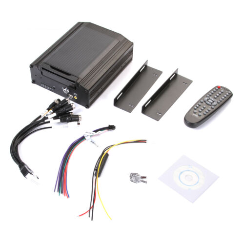 "4Ch Channel CCTV Vehicle Car Video Recorder HD DVR Mobile Support 2.5"" Sata HDD"
