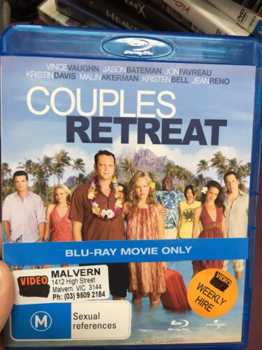 1 of 1 - Couples Retreat ex-rental BLU RAY (2009 Vince Vaughn comedy movie) cheap