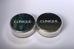 Lot-2-Clinique-Blended-Face-Powder-20-Invisible-Blend-Travel-Size-16oz-4-5g-ea