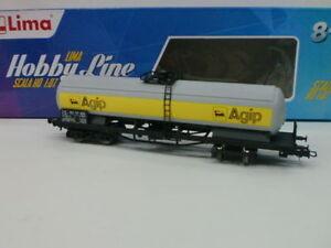 LIMA-HOBBY-LINE-HORNBY-H0-1-87-CARRO-CISTERNA-PER-OLIO-MINERALE-SNCF-ART-HL6102