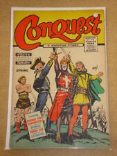 CONQUEST #1 VG+ (4.5) FAMOUS FUNNIES COMICS MARCH 1955