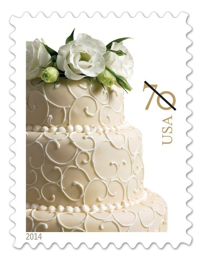 2014 70c Wedding Cake, Invitation Scott 4867 Mint F/VF