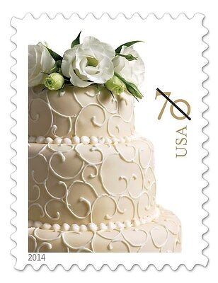 2014 70c Wedding Cake, Invitation Scott 4867 Mint F/VF NH