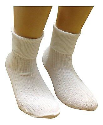 Girls 5 Pair Baby Elle Khaki Plain Ankle Socks