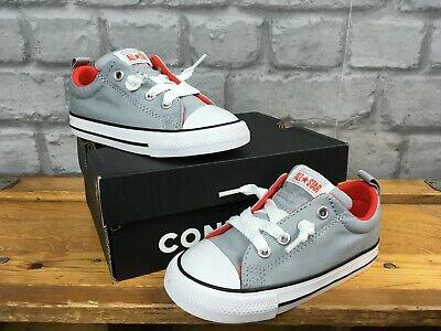 Converse UK 8 EU 24 All Star Street Ox graurot Sneaker