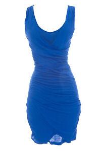 Kleid Blitz Dama Blau Damen Supertrash Neu St01149 Ozean BqxwXEI