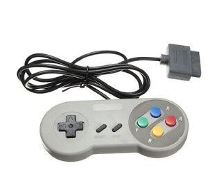 4-X-Manette-SNES-Super-Nes-controleur-pour-Super-Nintendo