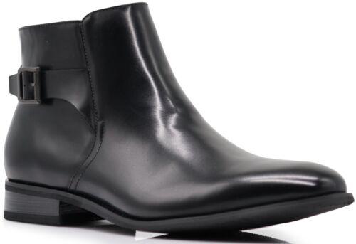 Men/'s Chelsea Western Winter Cowboy Motorcycle Ankle Boots Brown Black Zip McVey