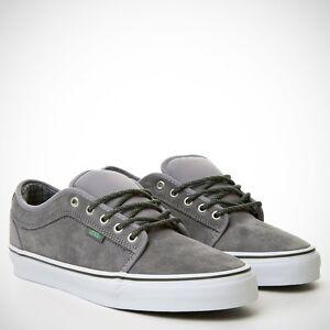 Vans - Zapatillas para hombre, color gris, talla 11.5