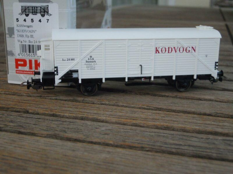 Piko 54547 closed wagon refrigerator  kodvogn  the osd, EP 3. new in Emb. orig.